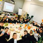 "Photos from our ""Cheerios Childline"" breakfast morning."