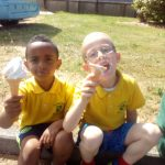 Junior Infants Ice-Cream Day!!