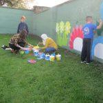 Green Schools Garden mural